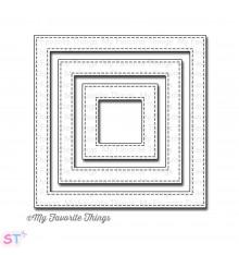Troqueles Stitched Square Frames