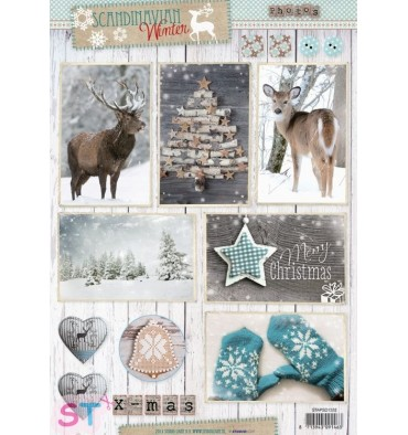 Hoja Scandinavian Winter 1332 A4