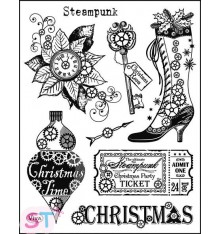 Sello Steampunk Christmas