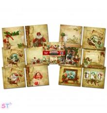 Paper pad Christmas Compendium 12x12 IndigoBlu