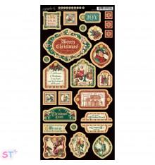 A Christmas Carol Decorative Chipboard precortado Graphic 45