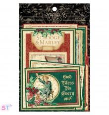 A Christmas Carol Ephemera Cards Graphic 45