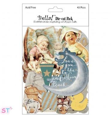 43 Figuras recortadas Bella Baby Boy
