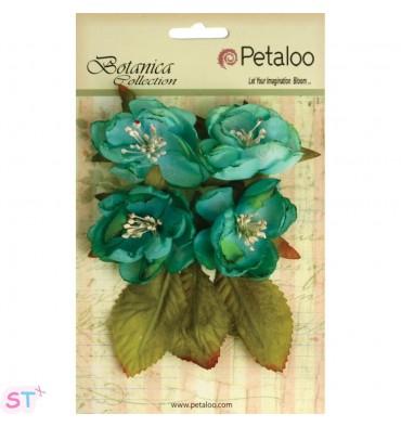 Botanica Blooms Teal x 4