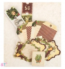 A Victorian Christmas Tags & Tickets Prima Marketing
