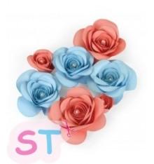 Troquel Love Birds 3D Floral 2