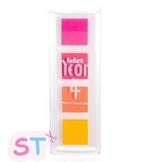 Tinta Neon Warm de Tsunineko Set de 4