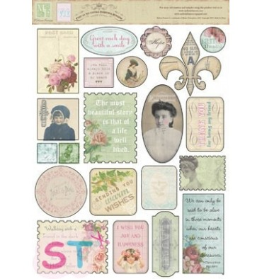 Cest la Vie Sticker Cardstock