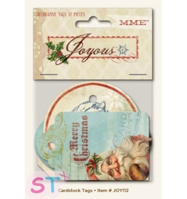 Joyous Decorative Tags