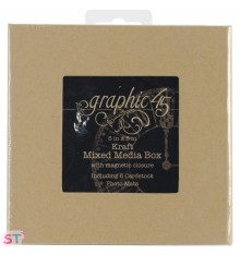 Caja Staples Mixed Media Kraft Graphic 45