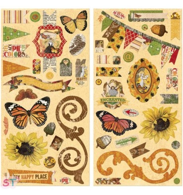 Chipboard Enchanted Harvest de Bo Bunny