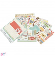 Kit Calendario de Basic Grey 8x8
