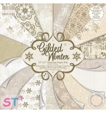 Paper pad Premium First Edition Gilded Winter 12x12