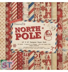 Paper pad North Pole 12x12