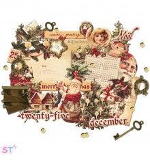 A Victorian Christmas Chipboard and more