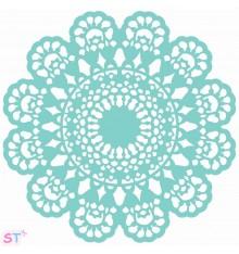 Plantilla Lace Doily 12x12