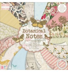 Paper pad First Edition Botanical Notes 12x12