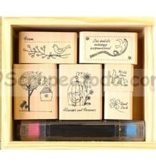 Set de sellos Shinzy Katoh