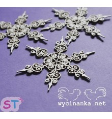 Estrella de nieve 1 x 3