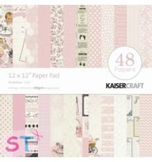 Paper pad Peekaboo Girl 12x12