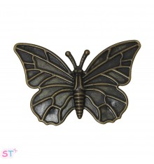 Mariposa en color bronce