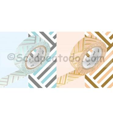 Esquina azul - melocotón