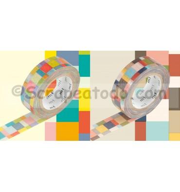 Mosaico brillante - pálido