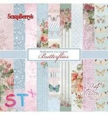 Paper Pad Butterflies 6x6 Scrapberrys