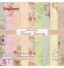 Paper French Journey 6x6 Scrapberrys