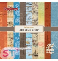 Paper Antique Shop 6x6 Scrapberrys