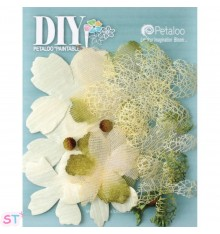 DIY Textured Blossom pintables x 12