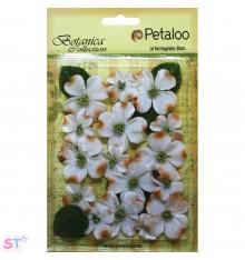 Vintage Velvet Dogwood Blossoms x 24