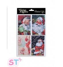 Stickers Dazzlers Victorian Santa 3D