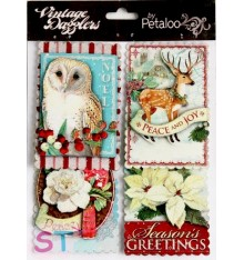 Stickers Dazzlers Season Greetings 3D