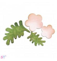 Troquel Flores y Hojas