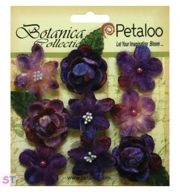 Botanica Vintage Velvet Mini Purple x 9