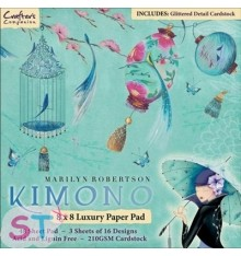 Paper pad Kimono 8x8 Crafters Companion