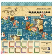 Paper Pad Children's Hour Calendar 12x12 Graphic45