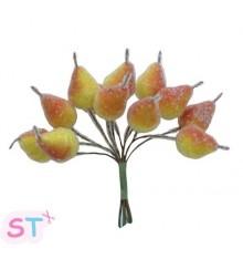 Peras con brillo x 12