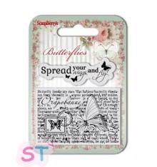 Sellos de silicona Butterflies Wings de Scrapberrys