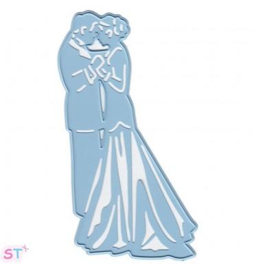 Troquel Thinlits Bride and Groom