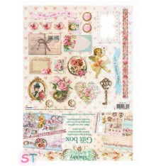 Gift Box Shabby Chic 30