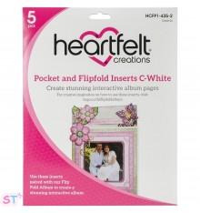 Pocket & Flipfold Inserts C Blanco