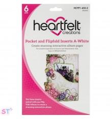 Pocket & Flipfold Inserts A Blanco