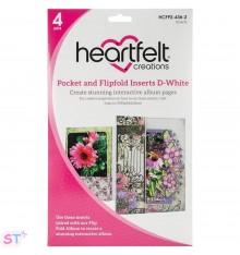 Pocket & Flipfold Inserts D Blanco