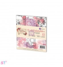 Paper pad Prima Marketing Paintables Watercolor Paper Tales Of You & Me 6x6