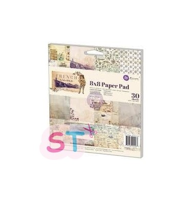 Paper pad French Riviera 8x8 Prima Marketing