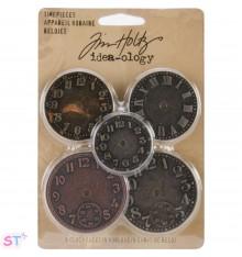 Caras de Reloj de Tim Holtz Idea-Ology x 5