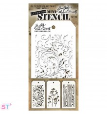 Mini Plantilla Tim Holtz 10