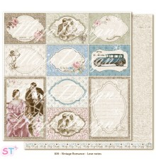 Hoja Vintage Romance Love Notes